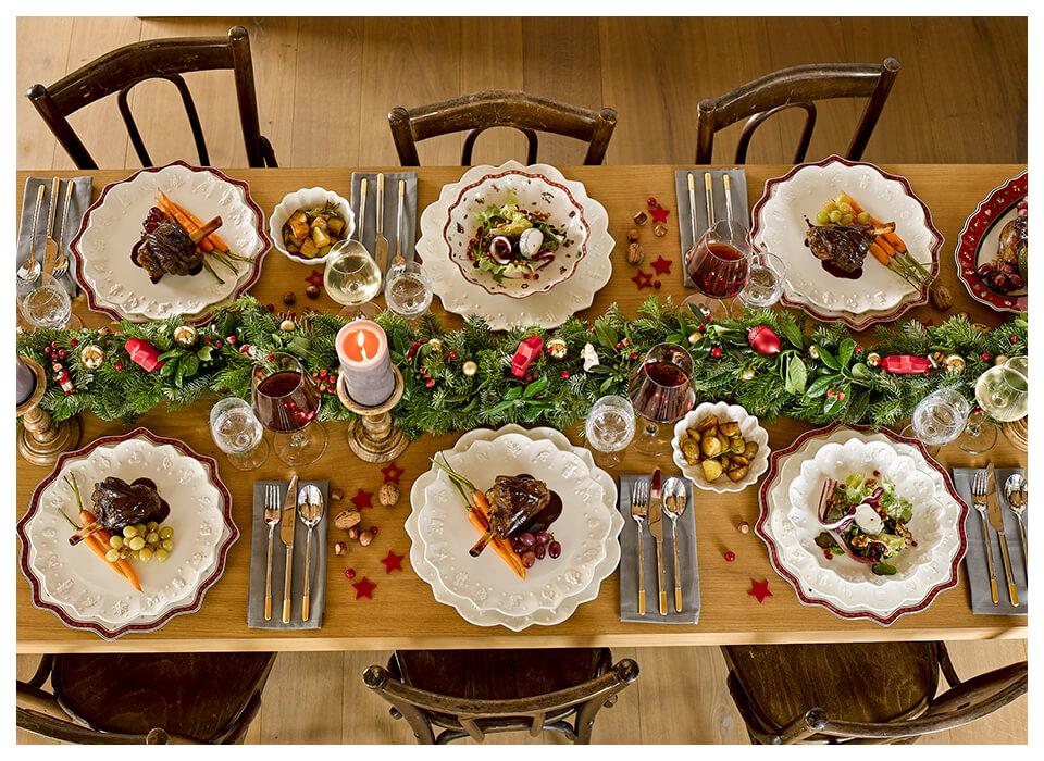 Nowoczesne I Tradycyjne Stoły Bożonarodzeniowe Od Villeroy